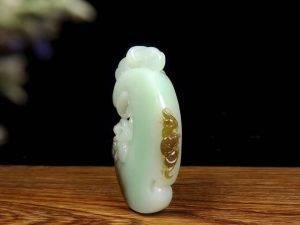 玉器人正品【洪福加身·一体链】项链
